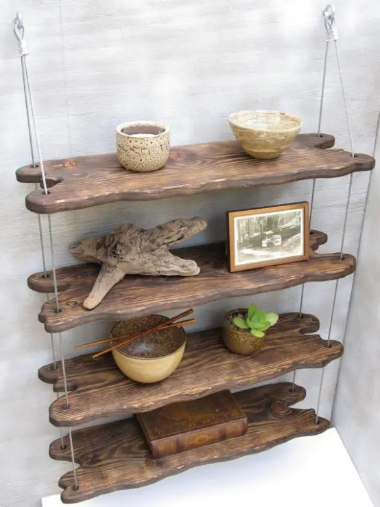 wooden frame beach chairs medicine ball chair exercises 30 eco-friendly driftwood furniture ideas to try - digsdigs