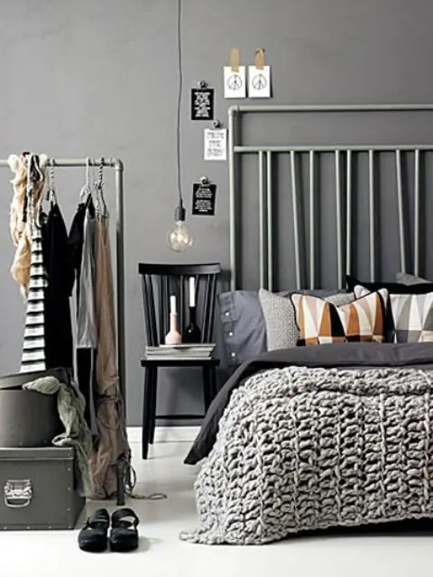 Making A Statement In Your Bedroom 25 Edgy Industrial