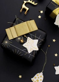 36 Super Elegant Black And Gold Christmas Dcor Ideas ...