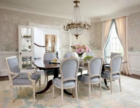 44 Elegant Feminine Dining Room Design Ideas Digsdigs