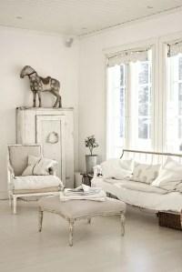 37 Enchanted Shabby Chic Living Room Designs