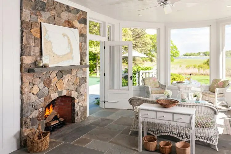sunroom living room grey hardwood floors in 75 awesome design ideas digsdigs even standard ceilings works great sunrooms especially if there is a brick fireplace