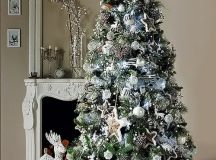 33 Exciting Silver And White Christmas Tree Decorations ...