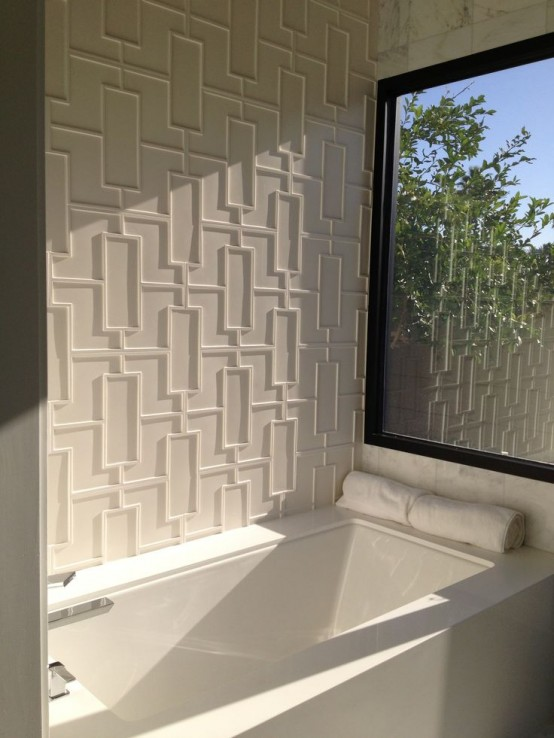 31 EyeCatching Textured Accent Walls For Every Space  DigsDigs