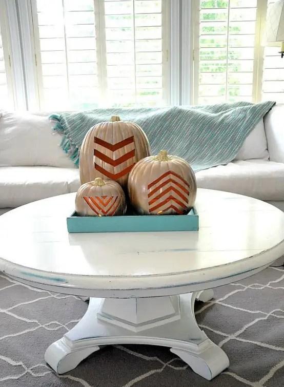 72 Fall Coffee Table Decor Ideas Digsdigs