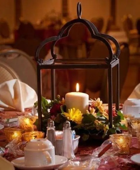 Stunning Wedding Table Decoration With Yellow Centerpiece Decor Fair Accessories For Vintage