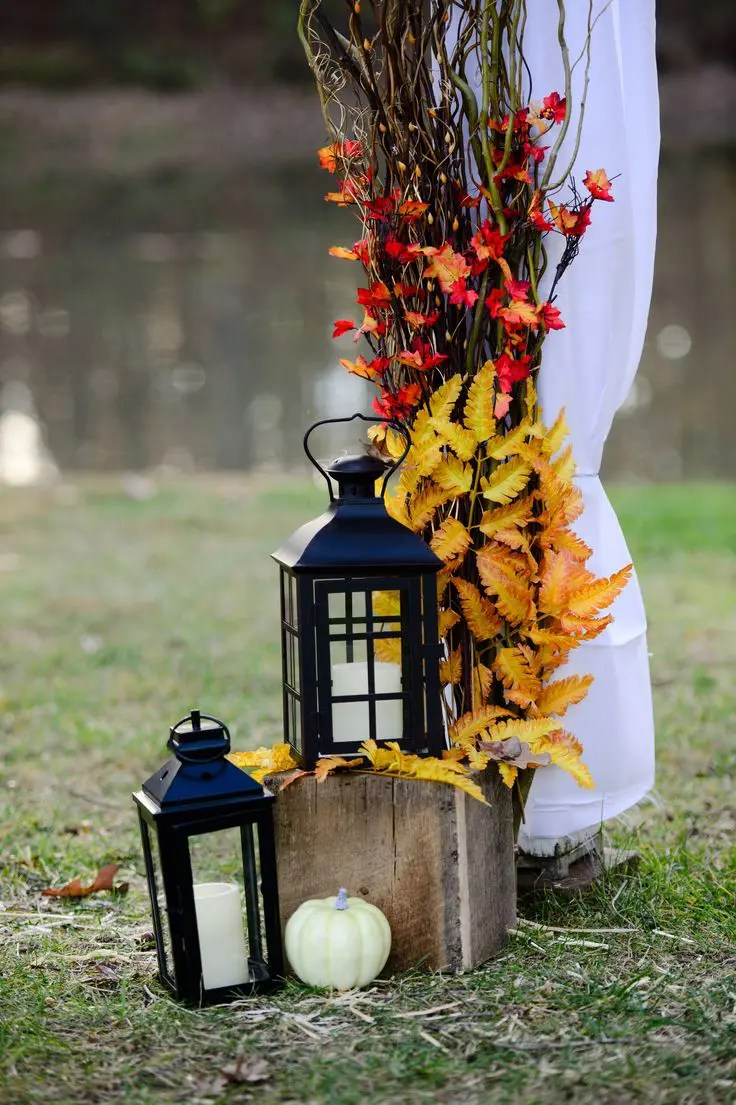 50 Fall Lanterns For Outdoor And Indoor Decor ~ Best