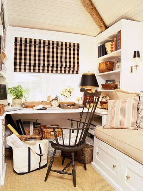 cool living room pictures of beautifully decorated rooms work in coziness: 20 farmhouse home office décor ideas ...