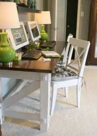 Work In Coziness: 20 Farmhouse Home Office Dcor Ideas ...