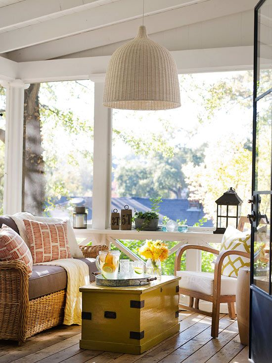 25 Farmhouse Sunrooms You Will Never Want to Leave  DigsDigs