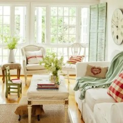 French Country Decorating Ideas For Living Rooms Room Wall Stencils Uk 25 Farmhouse Sunrooms You Will Never Want To Leave - Digsdigs