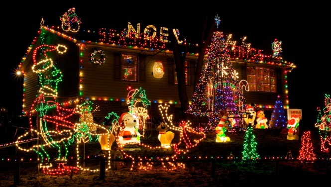 Outdoor Christmas Lighting Decorations 42