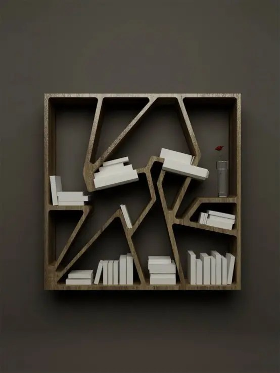 french bookshelf