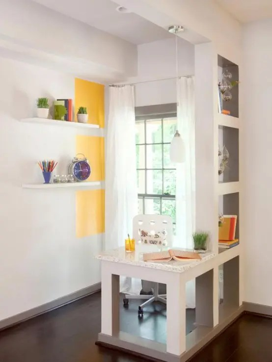 25 Home Office Dcor Ideas To Bring Spring To Your