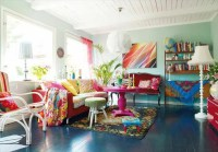 111 Bright And Colorful Living Room Design Ideas - DigsDigs
