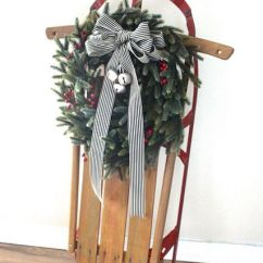 Ideas For Decorating Your Living Room Christmas Built In Wall Units Diy 33 Creative And Fun Sleigh Décor ...