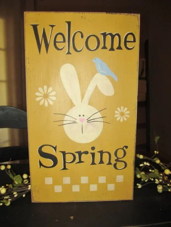 20 Creative And Fun Spring Signs For Dcor DigsDigs