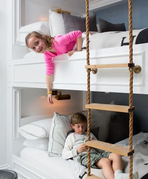 25 Functional And Stylish Kids Bunk Beds With Lights