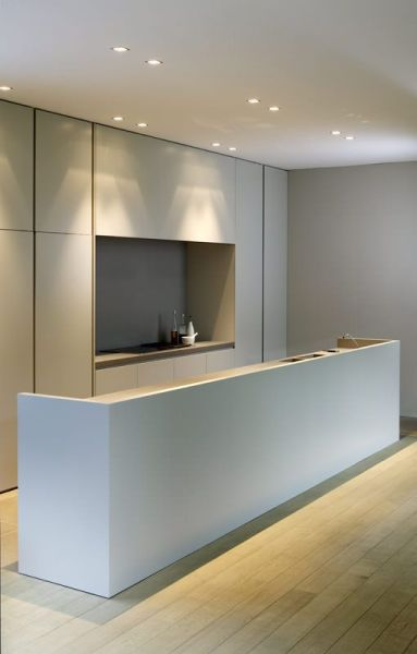 minimalist kitchen design ideas 37 Functional Minimalist Kitchen Design Ideas - DigsDigs