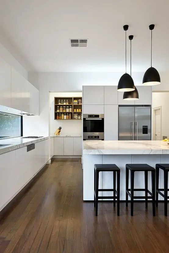 Contemporary Kitchen Island Ideas