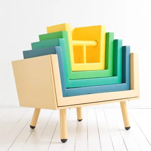 Functional Stackable Chairs For Your Children  DigsDigs