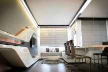Futuristic Apartment High Technologies Lovers