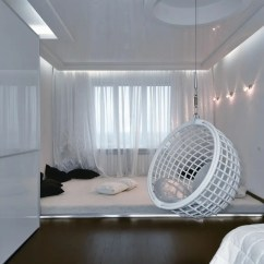 Egg Shaped Swing Chair Covers For Weddings Shropshire Futuristic Apartment Interior That Reminds A Salt Cave | Digsdigs