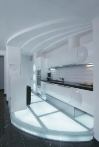 Futuristic Apartment Interior That Reminds A Salt Cave ...