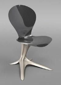 Ultra Futuristic Furniture Made Of Metal - DigsDigs