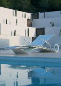 Futuristic Garden Furniture With Ferrari-Style Lounge ...