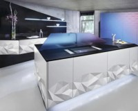 Futuristic Kitchen Design Inspired By Origami | DigsDigs