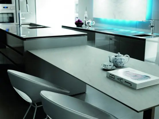 Futuristic Kitchen Design from Italy by Toncelli  DigsDigs