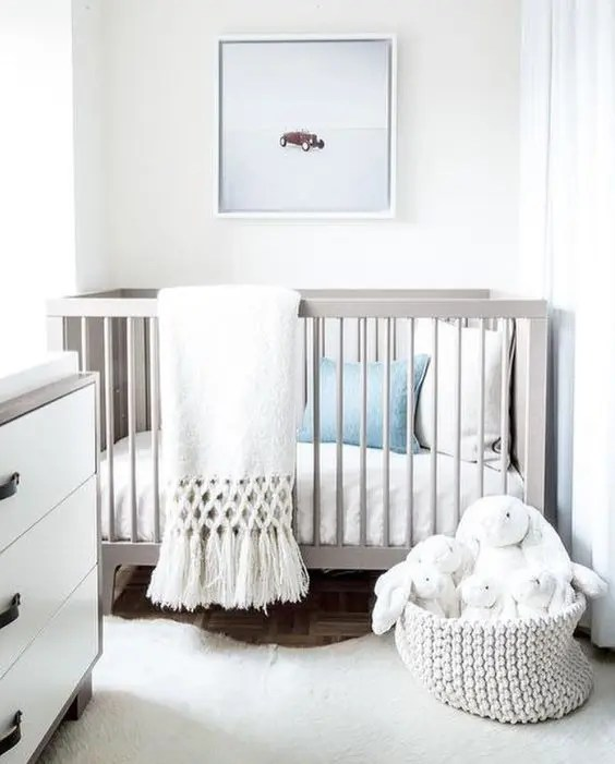 Turquoise Wallpaper For Girls Bedroom 34 Gender Neutral Nursery Design Ideas That Excite Digsdigs