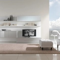 White Modern Living Room Small Ideas Black And Furniture For From Giessegi Digsdigs