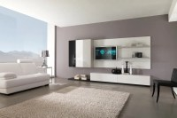 Modern Black and White Furniture for Living Room from ...