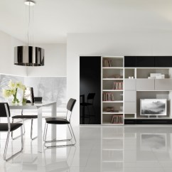 Modular Living Room Furniture Remodeling Ideas For Modern Black And White From Giessegi Digsdigs