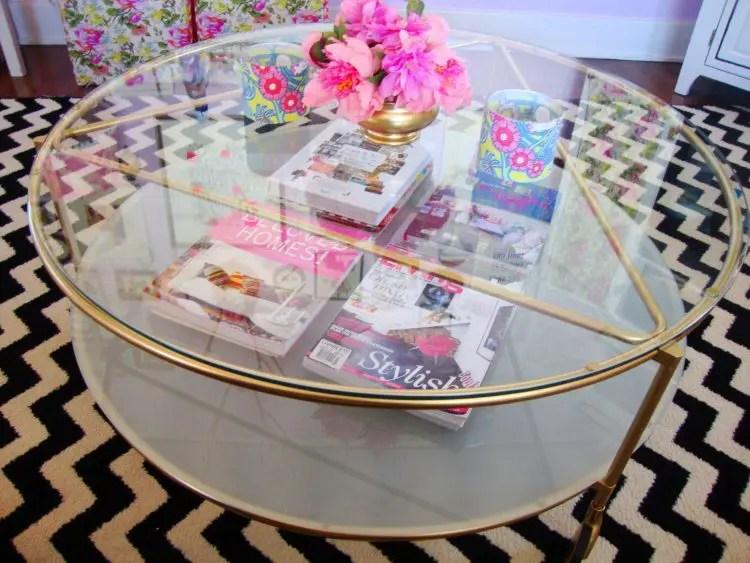 ikea strind coffee table for decor