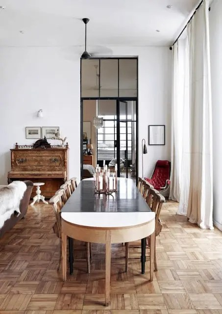 The Trek Style Dining Table By Gregor Jenkin Reflects Owners Afrikaans Roots