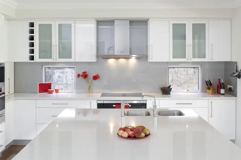 Glossy White Kitchen Design Trend  DigsDigs