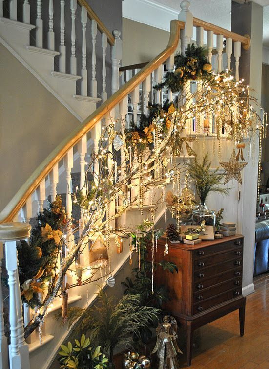 Interior Decorating With Holiday Lights