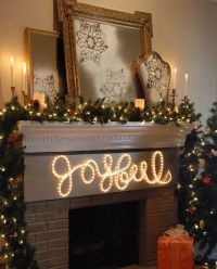 31 Gorgeous Indoor Dcor Ideas With Christmas Lights ...