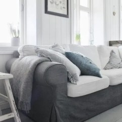 Gray Furniture In Living Room Interior Decorating Ideas For India 29 Awesome Ikea Ektorp Sofa Your Interiors ...