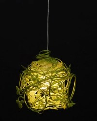 Green Vine Lamp  A Piece Of Nature In Your House | DigsDigs