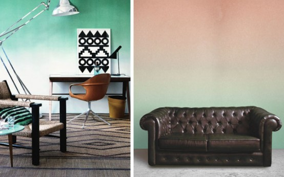 The Latest Decor Trend 29 HalfPainted Wall Decor Ideas