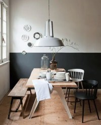 The Latest Decor Trend: 29 Half-Painted Wall Decor Ideas ...
