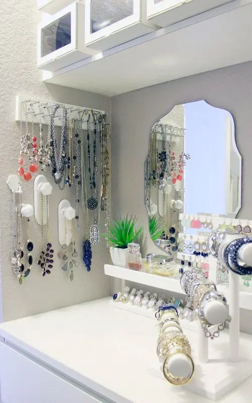 How To Organize Your Jewelry In A Comfy Way 40 Ideas