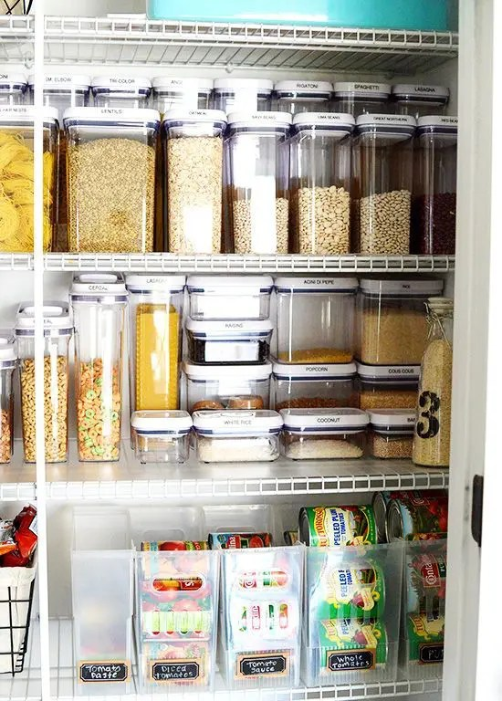 How To Organize Your Pantry: 35 Easy And Smart Ideas - DigsDigs
