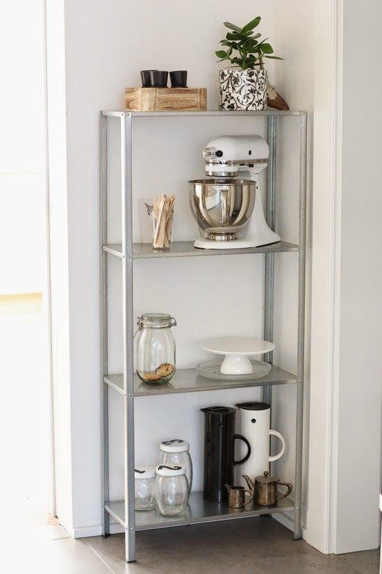 decorate kitchen waypoint cabinets how to rock ikea hyllis shelves in your interior: 31 ideas ...