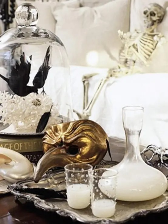 Gorgeous Fall Wallpaper 70 Ideas For Elegant Black And White Halloween Decor