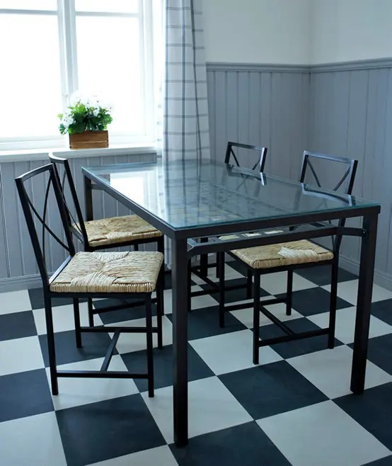glass top kitchen table set gadget store ikea 2010 dining room and designs ideas ...
